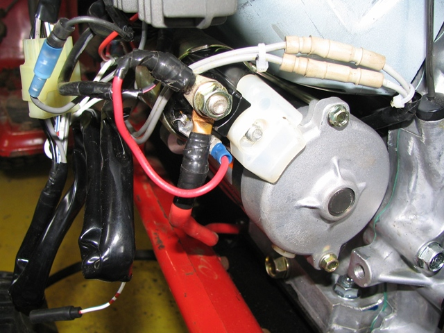 repowering a cub cadet 782 with a honda engine farmall cub Cub Cadet Solenoid Diagram after a few attempts at figuring out how to run the throttle cable, this arrangement seems to be the simplest and best since i have an throttle cable hole