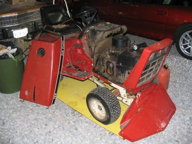 Repowering A Cub Cadet 782 With A Honda Engine Farmall Cub